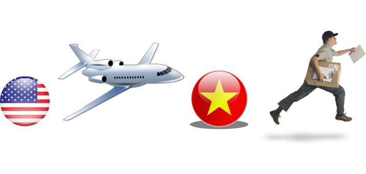 Dịch vụ gửi hàng đi Mỹ tại Hà Nội - chuyển phát nhanh