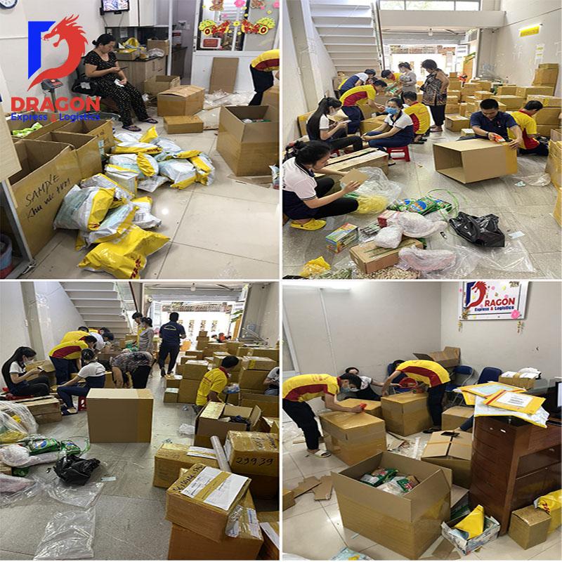 Gửi hàng đi Mỹ tại Đà Nẵng - Dragon Express - Nhận hàng và đóng hàng an toàn, nhanh chóng