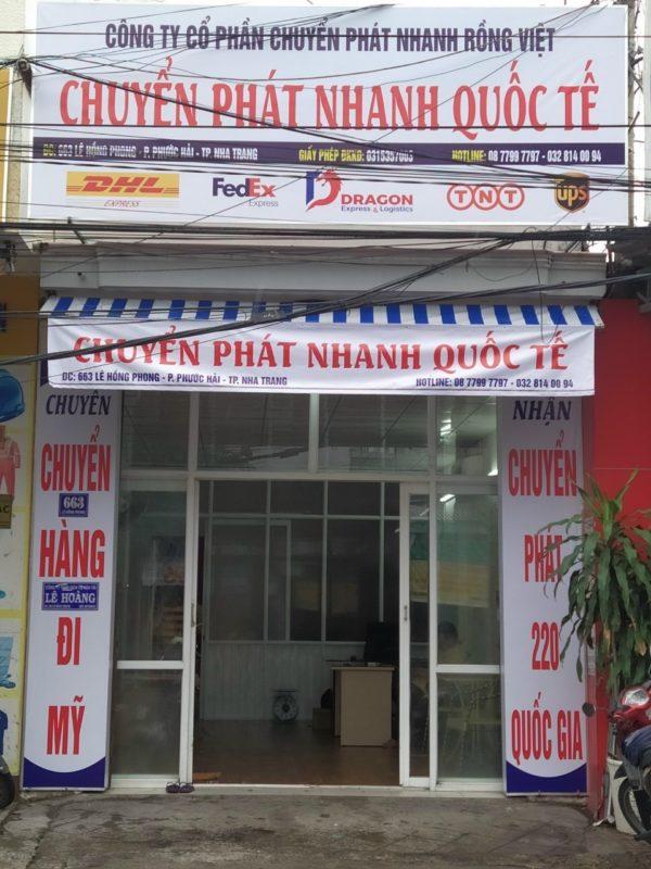 Chuyển phát nhanh DHL Nha Trang