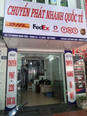 Gửi hàng đi Mỹ tại Hà Nội - Dragon Express