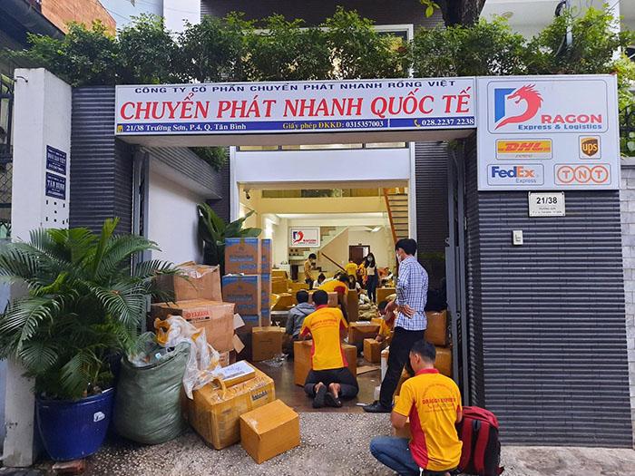 DHL Tại Quận Tân Bình