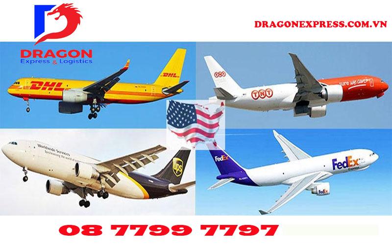 Gửi hàng đi Mỹ tại Đà Nẵng - Dragon Express - Vận chuyển Hàng Không siêu nhanh
